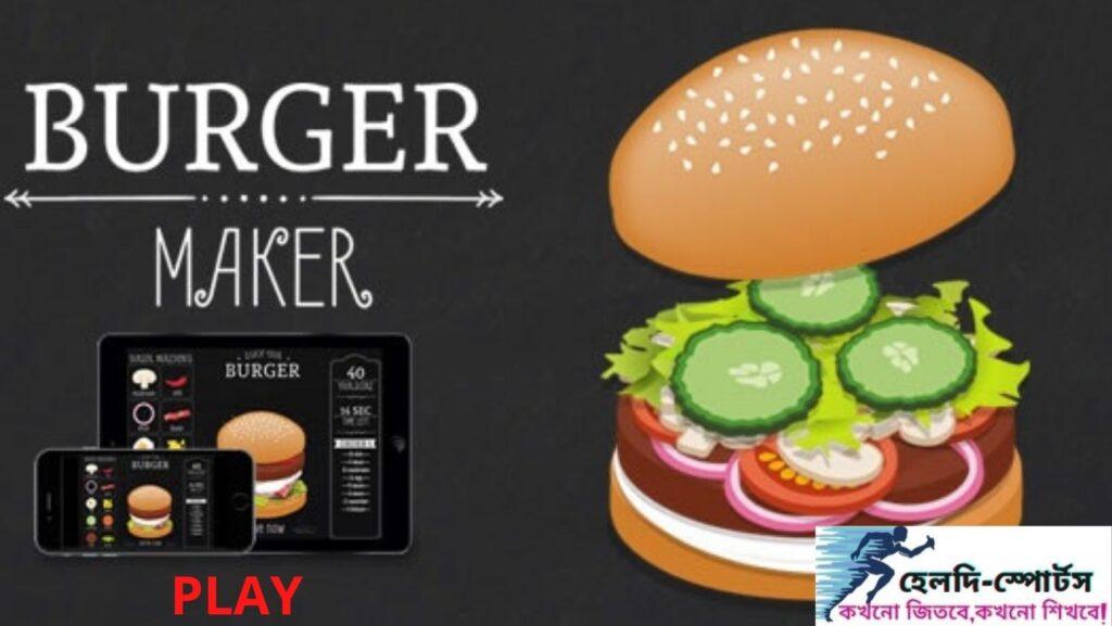 Burger Maker games