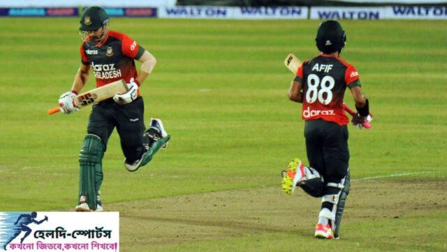আফিফ-সোহানের ব্যাটে ভর করে ২য় T20 তে জয় তুলে নিলো টাইগাররা!